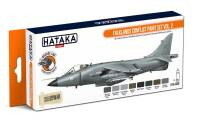 HTK-CS28 Falklands Conflict paint set vol. 2 -- ORANGE LINE