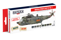 HTK-AS55 Modern Luftwaffe paint set vol. 2