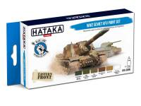 HTK-BS95 WW2 Soviet AFV paint set – BLUE LINE
