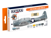 HTK-CS53 Early US Navy & USMC paint set --> ORANGE LINE