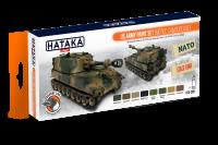 HTK-CS51 US Army paint set (MERDC camouflage)ORANGE LINE