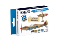 HTK-BS08 RAF in Africa paint set --> BLUE LINE