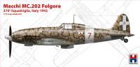 H2K72008 Macchi MC.202 Folgore, Italy 1943 (ex Hasegawa)