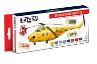HTK-AS98  British SAR Service paint set vol. 1