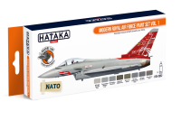 HTK-CS52 Modern Royal Air Force paint set vol. 1  ORANGE LINE