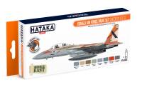 HTK-CS62 Israeli Air Force paint set (modern jets) --> ORANGE LINE