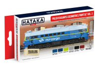 HTK-AS57 Polish Railways locomotives paint set vol. 3