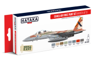 HTK-AS62 Israeli Air Force paint set (modern jets)