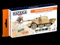 HTK-CS25 Modern French Army paint set --> ORANGE LINE
