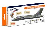 HTK-CS97 Modern Royal Air Force paint set vol. 5 -- ORANGE LINE