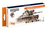 HTK-CS99 US Army paint set (MASSTER & DUALTEX)