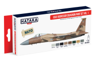 HTK-AS29 USAF Aggressor Squadron paint set vol. 1