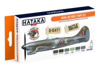 HTK-CS07 Royal Air Force paint set ORANGE LINE