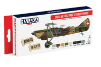 HTK-AS15 HTK-AS15 Swiss Air Force Paint Set WW2 period