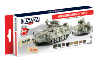 HTK-AS81 Modern German Army AFV paint set