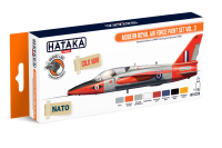 HTK-CS70 Modern Royal Air Force paint set vol. 3 -- ORANGE LINE