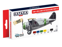 HTK-AS54 Early US Navy Section Colours paint set