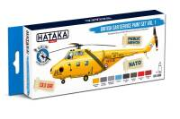 HTK-BS98  British SAR Service paint set vol. 1 – BLUE LINE