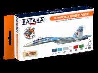 HTK-CS83 Ultimate Su-33 Flanker-D paint set --> ORANGE LINE