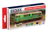 HTK-AS40 Polish Railways locomotives paint set vol. 1