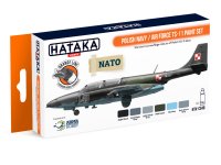 HTK-CS46 Polish Navy / Air Force TS-11 paint set ORANGE LINE