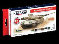 HTK-AS84 Modern Danish Army AFV paint set