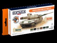 HTK-CS84 Modern Danish Army AFV paint set --> ORANGE LINE