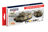 HTK-AS77 Modern British Army and RAF AFV paint set