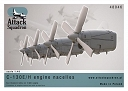 ASQ48046 1/48 C-130 E/H Engine nacelles + propellers