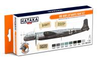 HTK-CS110 Mid-War Luftwaffe paint set -- ORANGE LINE