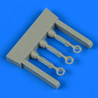 Hawker Hurricane control lever 3pcs. (Arma Hobby) 1/72
