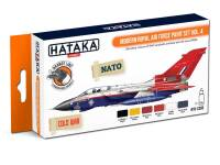 HTK-CS85 Modern Royal Air Force paint set vol. 4 -- ORANGE LINE