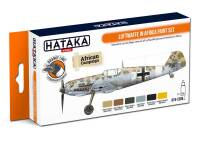 HTK-CS06.2 Luftwaffe in Africa paint set -- ORANGE LINE