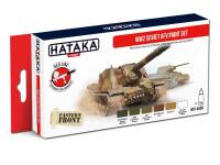 HTK-AS95  WW2 Soviet AFV paint set