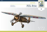 70016 PZL P.11c Junior Set 1/72