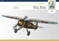 70016 PZL P.11c Junior Set 1/72