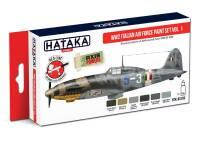 HTK-AS103 WW2 Italian Air Force Paint set vol. 1