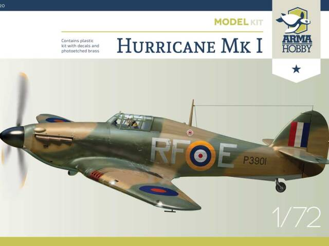 Errata kalkomanii do Hurricane Model Kit #70020 i promocja