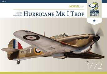 70021 Hurricane Mk I Trop Model Kit
