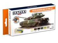 HTK-CS112 Modern Ukrainian Army AFV paint set -- ORANGE LINE