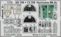 EDU73708 SET Hurricane Mk.IIc 1/72