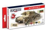 HTK-AS106 WW2 Italian AFV paint set