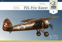 70017 PZL P.11c 'Kresy' Model Kit 1/72