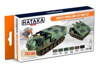 HTK-CS65 Modern Finnish Army AFV paint set -- ORANGE LINE