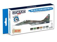 HTK-BS105 MiG-29A/UB 4-colour scheme paint set – BLUE LINE