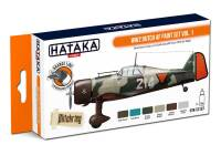 HTK-CS107 WW2 Dutch AF paint set vol. 1 -- ORANGE LINE