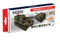 HTK-AS51 US Army paint set (MERDC camouflage)