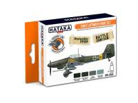 HTK-CS02 Early Luftwaffe paint set -- ORANGE LINE