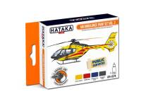 HTK-CS79 Air Ambulance (HEMS) paint set vol. 2-- ORANGE LINE