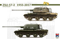 H2K35001 ZSU-57-2 1955-2017 w/bonus (11 Painting and Marking )